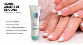 Hands Guante de silicona con Aloe Vera HINODE
