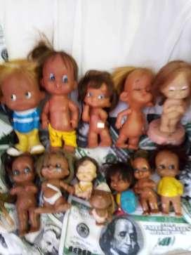Vendo muñecas bartoplas antiguas