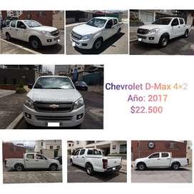Camioneta Chevrolet D-Max
