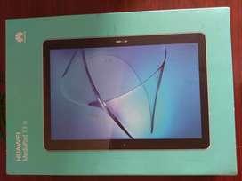 Tablet Huawei Mediapad T3 10 Lte Gris 16gb Como Nueva