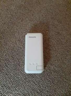 Cargador portatil phillips 5200mah