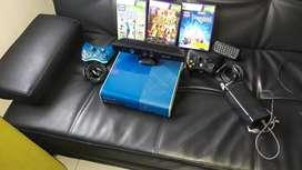 xbox 360 negociable como nuevo con kinet con 3 juegos y memoria de 500 gb con 130 juegos