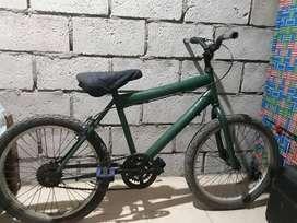 bicicleta mediana  aro 20