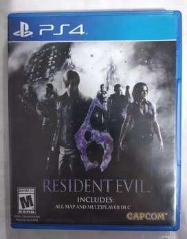 Resident Evil 6 Ps4 PlayStation