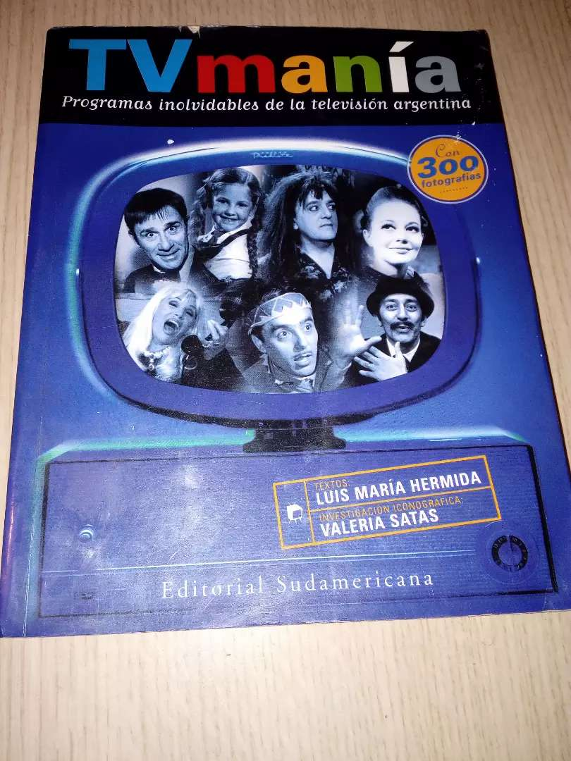 TV manía - Luis María Herminda - Libro para recordar
