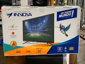 "Vendo televisor smartv android innova 32"" garantia 1 año"