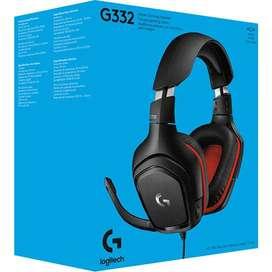 Audífono Gamer Logitech G332 Stereo - PC/PS4/XBOX/SWITCH