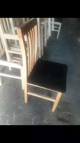 silla en madera paraiso