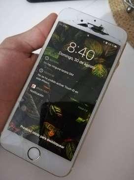 iphone 6S 64GB *Display y Botón home dañado*