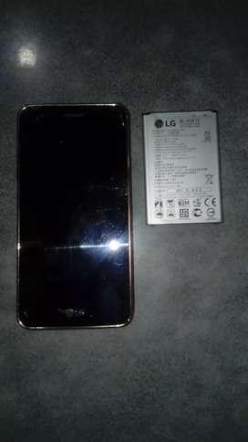 Vendo bateria y el celular  para repuesto LG K8