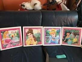 Cuadros Disney Princesas