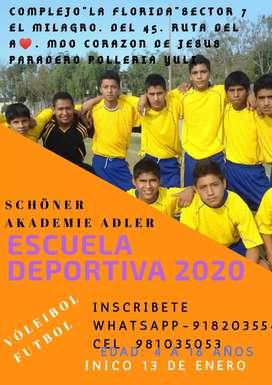 Escuela Deportiva. Schöner akademie Adler