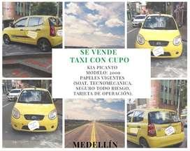 Taxi Kia Picanto - 2009 - cupo TAXINDIVIDUAL