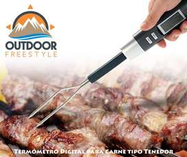 Termómetro Digital tipo Tenedor para Carne