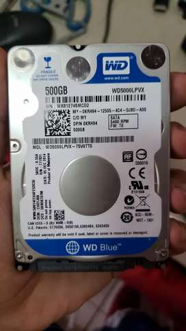 Disco duro laptop 500gb