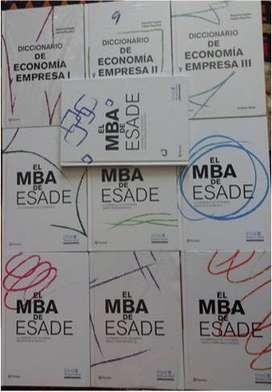 """COLECCIÓN """"EL MBA DE ESADE"""" DIARIO EL COMERCIO"""