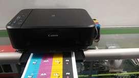Impresora multifuncional canon mg2110 con STC
