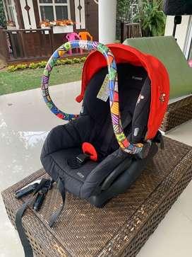 Coche QUINNY MODD edicion BRITTO+ silla carro adaptadores