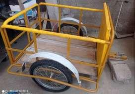 venta de remolque listo para adaptarse a moto o vehiculo