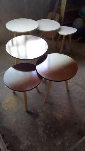 Hermosa mesa de centro eel color que desee