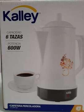 Cafetera Percoladora Kalley 6 Tazas