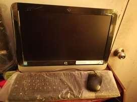 Vendo PC compaq all in one