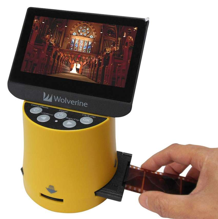 Convertidor Digitalizador de negativos de fotos Wolverine F2D Titan 0