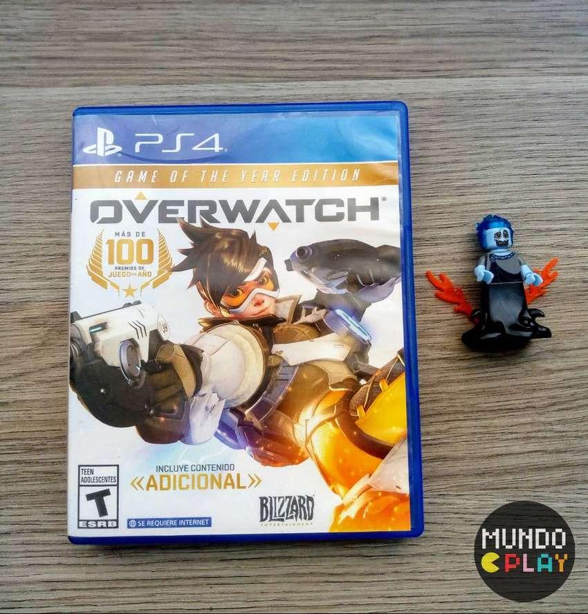 Overwatch PS4 0