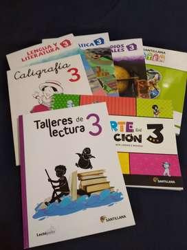 Se vende colección Santillana 3ro.