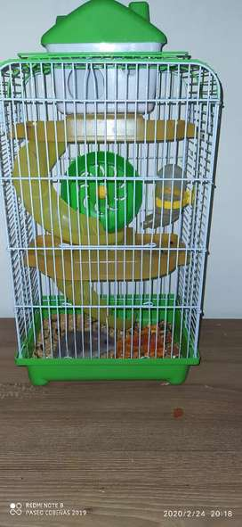 Jaula Para Hamster con Hámster incluido