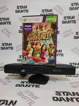 Camara XBOX 360 + Juego Kinect Adventures !