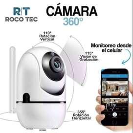 Cámara 360° FHD WIFI