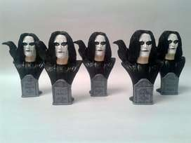 FIGURA EL CUERVO THE CROW ERIC DRAVEN BRANDON LEE ROCK GOTHIC PELICULA