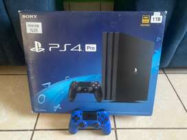 PS4 PRO, 1 T, NUEVO + CONTROL EXTRA
