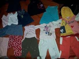Ropita de Nena 6 Meses