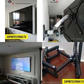Bases Para TV / Soportes Para TV, Madrid Cundinamarca, Servicio Instalación de TV, Televisores, Soportes de Pared Madrid