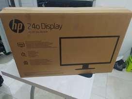 Monitor led HP 24 usado