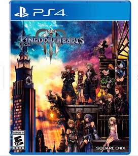 GANGAZO KINGDOM HEARTS 3 PS4