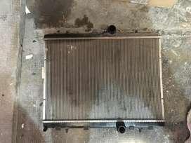 radiador de agua citroen c4 louge