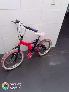 Cicla niña usada súper económica