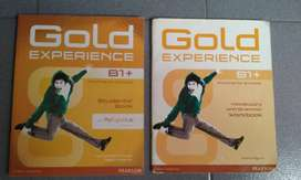 Gold Experience B1 Ed. Pearson. Student's book y Workbook con CD