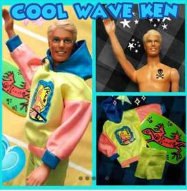 JUGUETE BARBIE KEN COOL WAVE VESTIMENTA