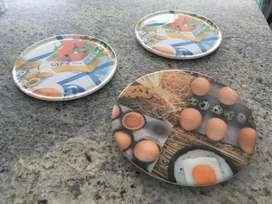 Bases para poner ollas calientes