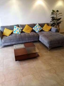 Muebles para sala y comedor + refrigeradora