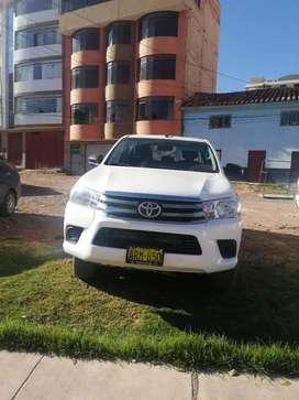 Vendo Camioneta Hi Lux Año 2016