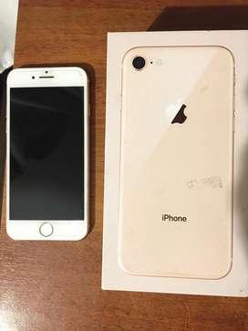iphone 8 con caja