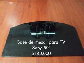 Base de mesa para  Tv Sony 50""
