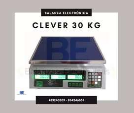 BALANZA CLEVER 30 KG NUEVA EN CAJA GARANTÍA