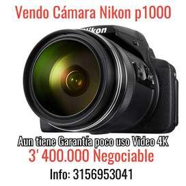Vendo Cámara Nikon p1000