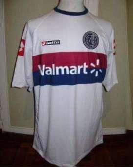 Camiseta san lorenzo 2009 blanca L xl lotto